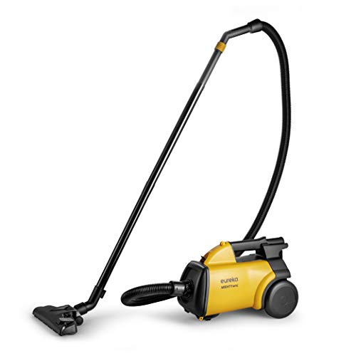 Eureka 3670M Mighty Mite 3670 Corded Canister Vacuum Cleaner, w/ 5bags, Yellow