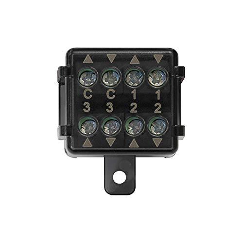 Vimar 03997 Modulo centrale tapparelle Quid, 2 ingr pulsante NO, 6 uscite per modulo relè tapparelle Quid 03996, installazione in scatole di derivazione o portafrutto