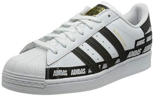 adidas Superstar, Zapatillas Deportivas Hombre, FTWR White Core Black Gold Met, 48 EU