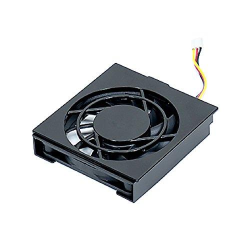 Synology Fan 60 * 60 * 10_2 Computer Kühlkomponente Ventilator - Computer Kühlkomponenten (Ventilator, 6 cm, DS414slim, Schwarz, 60 mm, 60 mm)