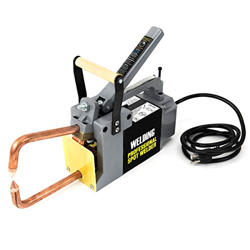Stark Professional Portable Spot Welder Machine Electric Welding Systems DIY Welding Tips with Handle 120-Volt