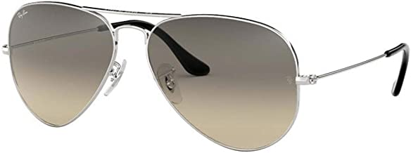 Ray-Ban RB3025 003/32 Aviator Silver Frame / Light Gray Gradient Lenses 62mm
