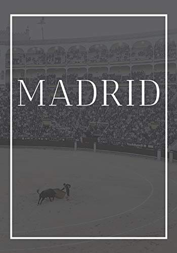 Madrid: A decorative book for coffee tables, end tables, bookshelves and interior design styling: Stack Spain city books to add decor to any room. ... own home or as a modern home decoration gift.