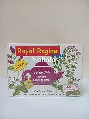 2 Packs of Royal Regime (Weight Loss) Tea 50 Sachetss (100 Sachets) by