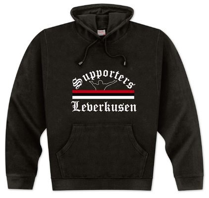 World of Football Kapuzenpulli Supporters-Leverkusen - M