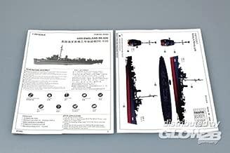 USS England DE-635 Buckley Class Destroyer 1/350 Trumpeter