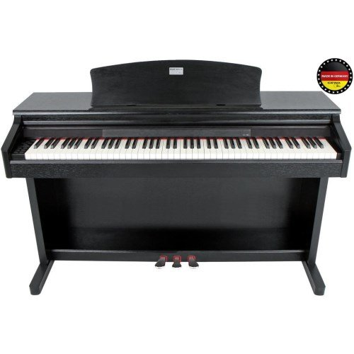 GEWA Piano Digitalpiano DP 140 G Schwarz matt