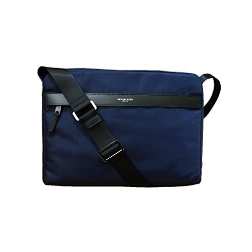 "Michael Kors Mens Crossbody Nylon Messenger Bag Measures 14""W x 14""H x 3""D"
