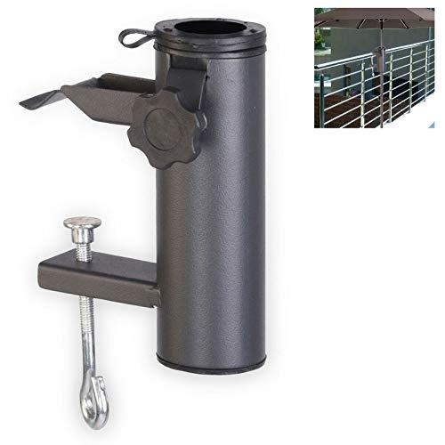 Smartweb Balkon Schirmständer Schirmhalter Sonnenschirmhalter Universal Sonnenschirm 70mm