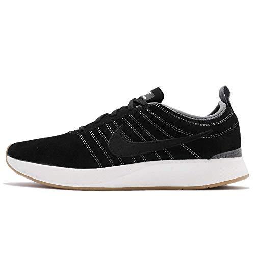 Nike W Dualtone Racer Se, Scarpe da Trail Running Donna, Nero/Bianco/Marrone (Black Black Summit White Gum Light Brown 004), 39 EU