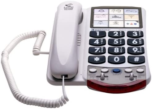 CLARITY VISUAL SYSTEMS 57330.001 Clarity P340M UC Handset