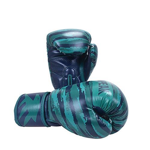 QJQJ Guantes de Boxeo Guantes 8Oz 10 oz 14 oz 12OZ Profesional Adulto Camuflaje MMA Muay Sanda tailandés de Boxeo Lucha Taekwondo Guante Guante de Entrenamiento de Artes Marciales,10OZ