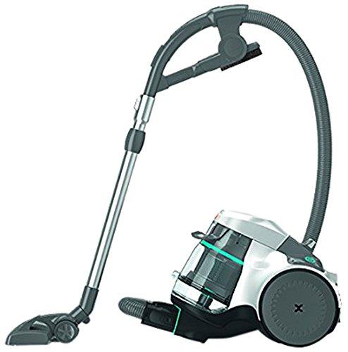 Vax VAXC86-AS-P-E Air Silence Pet stofzuiger, bijzonder stil, zakloos, multicyclone-technologie, blauw/grijs, EEK A