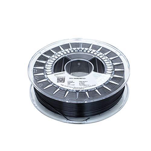 INNOVATEFIL TPU HARDNESS+, 1.75 mm, TRUE BLACK, 750 g Filament for 3D Printing by Smart Materials 3D