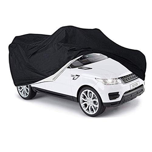 Cubierta de Juguete para automóvil, Cubierta Grande para automóvil para niños, vehículo eléctrico, Ajuste Universal, Envoltura para Exteriores para vehículos de Juguete con batería eléctrica