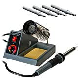 Stanz (TM) 58W Variable Temperature Soldering Station, Soldering Iron, Soldering Gun with Extra