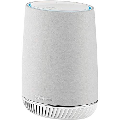 NETGEAR Orbi Voice Whole Home Mesh WiFi Satellite Extender - with Amazon Alexa and Harman Kardon Speaker Built in, AC2200 (RBS40V)