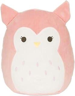 "12"" Plush Light Pink Baby Owl Olive"