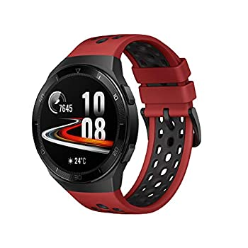 HUAWEI Watch GT 2e Bluetooth SmartWatch Sport GPS 14 Days Working Fitness Tracker Heart Rate Tracker Blood Oxygen Monitor Waterproof for Android and iOS 46mm Lava Red