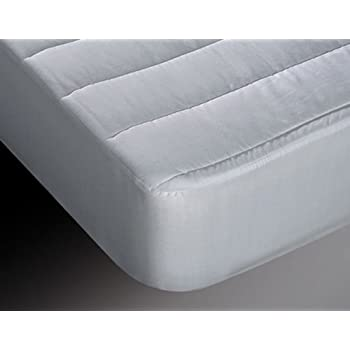 Burrito Blanco Protector de Colchón Acolchado y Transpirable ...