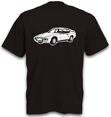 mächtig der welt 924 Sportwagenmotiv Auto Young Timer Oldtimer Hot Hatch Gr.  L. L.