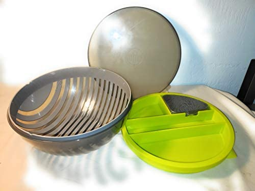 PAMPERED CHEF 100086 SALAD CUTTING BOWL product image