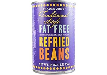 Trader Joe s Traditional Style Fat-Free Refried Beans - 1 Can  1 lb