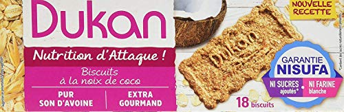 Dukan Diet Haferkleie Kekse - Coco (37g) 3er Packung