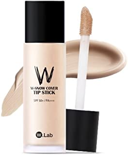 [W.Lab] W-SNOW COVER TIP STICK 23. COVER BEIGE, 40ml, Foundation, Concealer