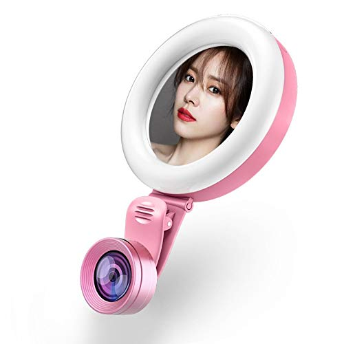 Led-ring licht nieuwe telefoon selfie licht lippenstift kleine V-gezicht groothoeklens voor foto's Macro Anchor Artifact