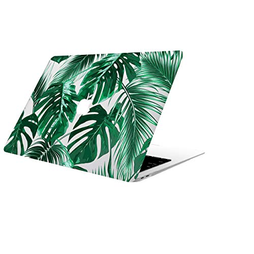 AOGGY MacBook Pro 15 inch Case A1398,Palm Leaves Plastic Hard Shell Case,Only Compatible 2012-2015 Version MacBook Pro 15'(with Retina Display,NO CD-ROM Drive,NO Touch bar) - Tropical Palms Leaves 09