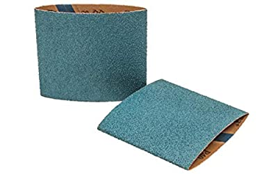 Walter 07F504 Cloth Drum Abrasive Belt - (Pack of 5) 40-Grit Zirconium Linear Finishing Drum Belt. Abrasive and Finishing Products