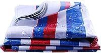 防水シート,多目的タープカバー、両面コーティングを施した3色の防雨厚厚プラスチックオーニングターポリン、建設現場での商品の保護に使用(Size:6x10M)