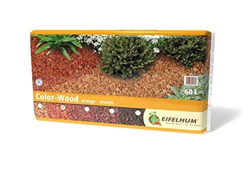 Eifelhum Dekormulch Color Wood orange 60 Liter