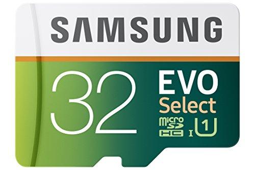 Samsung 32GB 80MB/s EVO Select Micro SDHC Memory ...