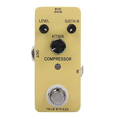 Bnineteenteam Gitaar-compressie-effectpedaal, True Bypass-compressor gitaar-effectpedaal, onderdelen accessoires