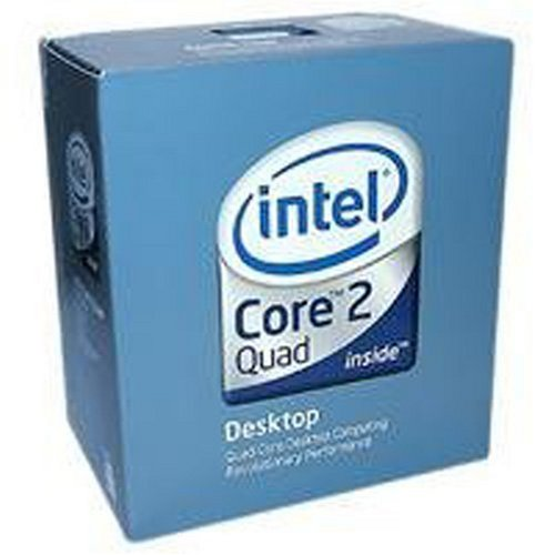 Intel Core 2 Quad Desktop-Prozessor Q6600 Box (2,4 GHz, Sockel 775, 8 MB L2-Cache)