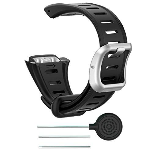 Lokeke Ersatzband für Polar FT60 (Herren) Smartwatch Ersatzband aus Silikon für Polar FT60 (Herren) Armbanduhr