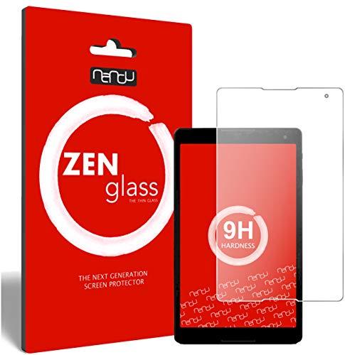 ZenGlass Flexible Glas-Folie kompatibel mit Medion LifeTab P10506 Panzerfolie I Bildschirm-Schutzfolie 9H