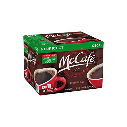 A Product of McCafe Premium Roast Decaf Coffee K-Cups (100 ct.)