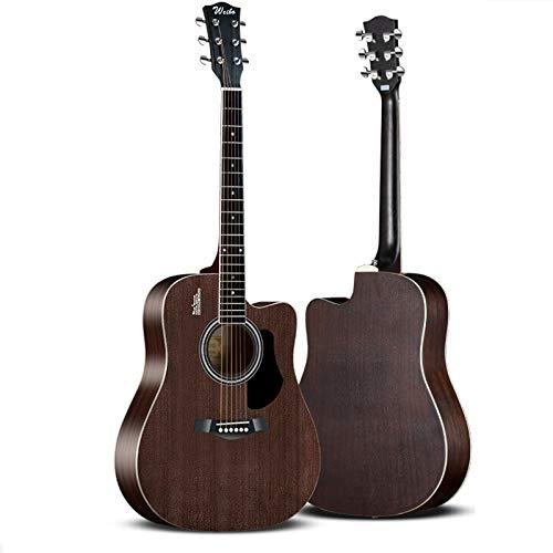 FENGSR Guitarra introductoria para niños y niñas, Guitarra para Principiantes, Tono de Cadena Ajustable, educación de música temprana, 100% Madera, Rendimiento al Aire Libre, Principiantes, Adultos