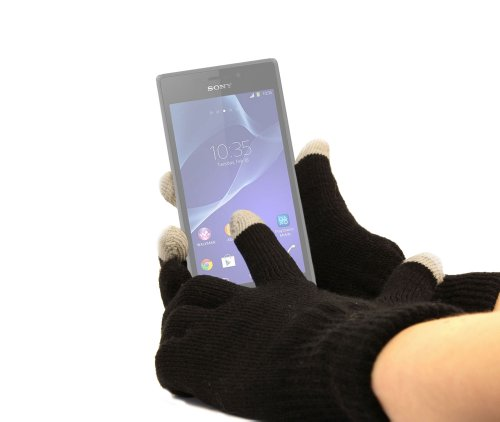 DURAGADGET Guantes Pequeños para Pantalla Táctil para Sony Xperia M2