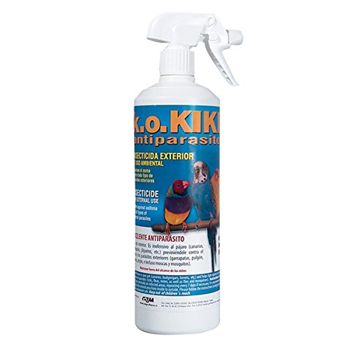 Kiki Insecticida Antiparasitario Pájaros 1 lts