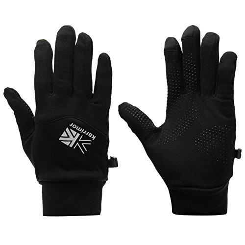 Karrimor Unisex Thermal Handschuhe Laufen Schwarz S/M