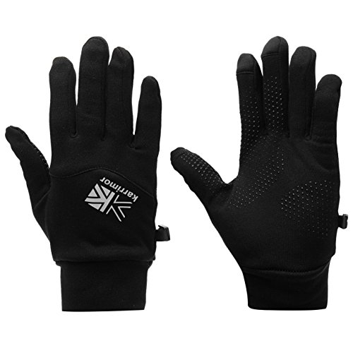 Karrimor Thermal Gloves Pairs Mitten Outdoor Windproof Sports Black L-XL by Karrimor