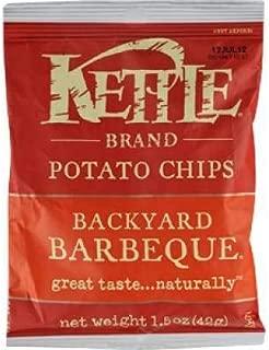 Kettle Brand Potato Chips, Backyard BBQ 1.5 oz. (Pack of 24)