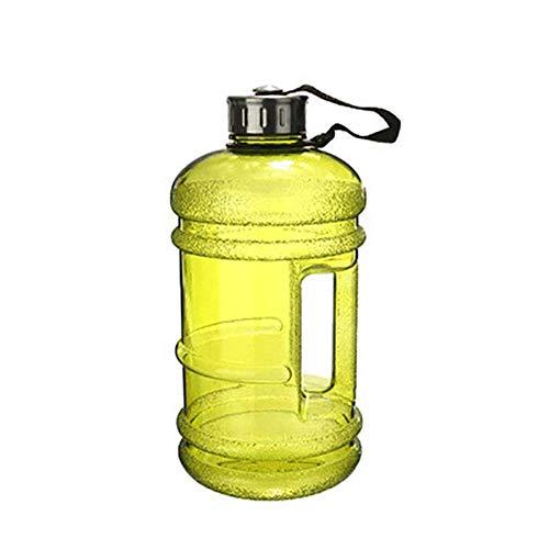 ASP 2,2 L 1/2 galón botella de agua batidora de proteínas de plástico deporte botella de agua de agarre de mano gimnasio fitness hervidor de agua al aire libre gran taza, se muestra en la imagen