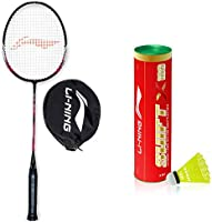 Li-Ning XP-IV Strung Badminton Racket With Free Head Cover