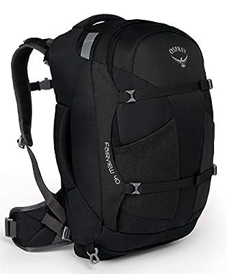 Osprey Packs Fairview 40 Women's Travel Backpack, Black, Small/Medium