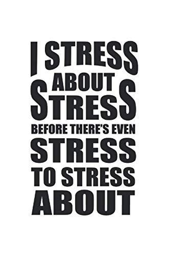 Carnet De Notes: Stress Yoga Burnout Sarcastique Drôle Cadeau 120 Pages, 6X9 (Environ A5) Journal Ligné